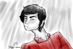 Realistic Marshall Lee by space--kitten