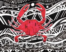 Red Crab by YoAdrienne