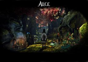 alice poster #2 by bartman668