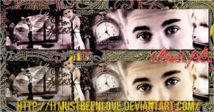 Banners de JB. by ItMustBeenLove