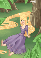 Tangled ~ Resting by Ideal-Idiosyncrasies