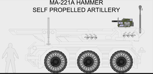 'Hammer' Self Propelled Artillery WIP by Jon-Michael-May