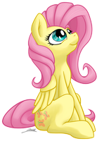 Fluttershy by PoniMichla