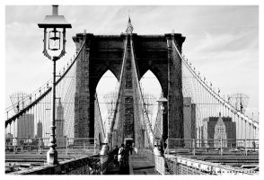 Brooklyn Bridge by Sonikblue