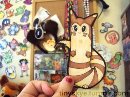 Furret by TinySkye
