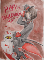 :contest entry: ..Happy Halloween.. by Kittycatgal101