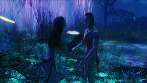 Avatar Jake and Neytiri by Prowlerfromaf