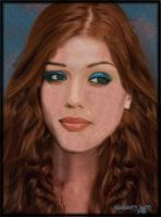 Jessica Alba reimagined...as a redhead by BlueberryCrazy