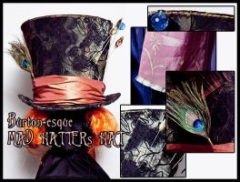 Mad Hatter's Hat 03 by Elemental-Sight