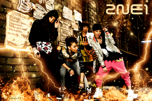 2ne1 - Fire wallpaper by sachiko2189