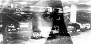Double Negative: Mosie+Carpark by Bedlam-baby