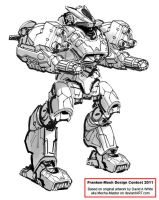 FrankenMech 2011 contest example by Mecha-Zone