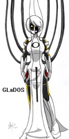 GLaDOS by Inverted-Mind-Inc