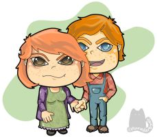 Arthur 'n Molly by FloraDelaney