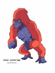 Primal rage chaos by Elimmc