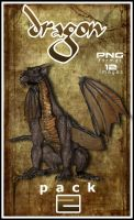 Dragon PNG pack 2 by Alegion-stock