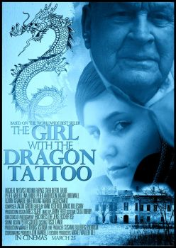 The Girl with the Dragon Tattoo movie poster by dans-obscurite