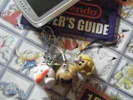 Animal Charm Cell Phone Strap Custom by ChibiSayuriEtsy