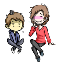 Haha Look At U Ross And Ur Lil Gay Hat by Sophy-Chan77