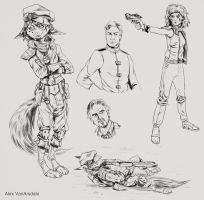Sketches by AlexVanArsdale