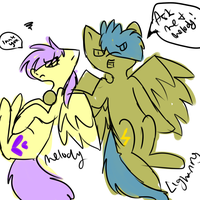 Ask Melody and Her Brother Lightning by TwistedAnchor