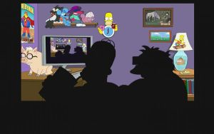 The Simpsons - Wallpaper by iFab