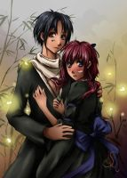 Commission No1-Tako x Maho by Selequiel