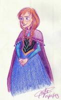 Anna - Frozen by SerifeB