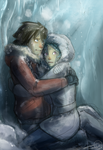Ice cave by Ticcy