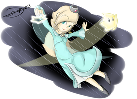 Rosalina and Luma Launch into battle! by drivojunior