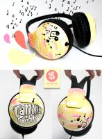 Vanilla Sky Headphones by Bobsmade