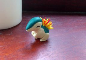 Fimo Cyndaquil