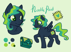 Needle Point Reference Sheet - Commission by TwigHat