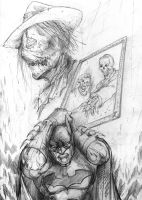 BTAS - Tribute 8 pencil by SaintYak