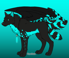 3 Point Water Wolf Adopt Open!! by iW-O-L-F