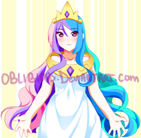 Princess Celestia by Rainbowshi