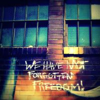 We have not forgotten freedom by RunBrightStar