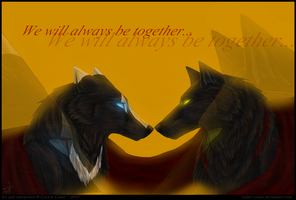 We will always be together by CoLLet-Crane