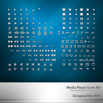 Media Player Icons Kit by xF85