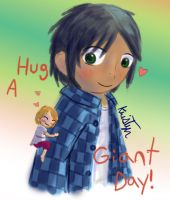 Hug a Giant Day!! by Friendlyfoxpal