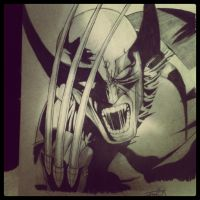 Wolverine by maghneth