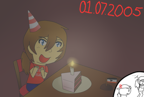 [APH] Happy Birthday Vikesland by poi-rozen