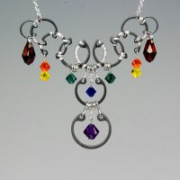 Solar Wind Necklace- SOLD by YouniquelyChic