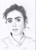 Lily Collins by Thedarksurge