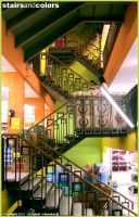 stairs and colors by iqbalbaskara