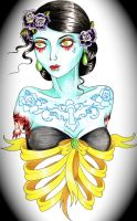 zombie lady by mia-belle