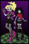 MH: OC Beetlejuice Sisters in Color by I-heart-Link