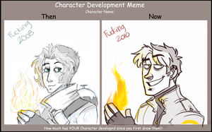 Character Development Meme by NicolasFlame