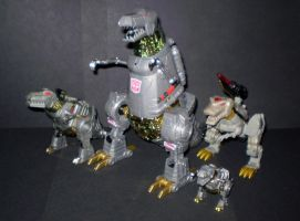 Grimlock Dino Modes by CyberDrone