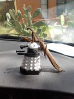 Dalek vs. Mantis by Drhoz